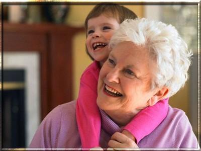 Традиционная роль бабушек и дедушек.