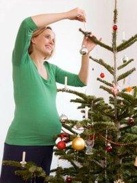 Как встретить Новый Год беременной?