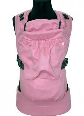Эрго-рюкзак BiBi (до 18кг) розовый лен