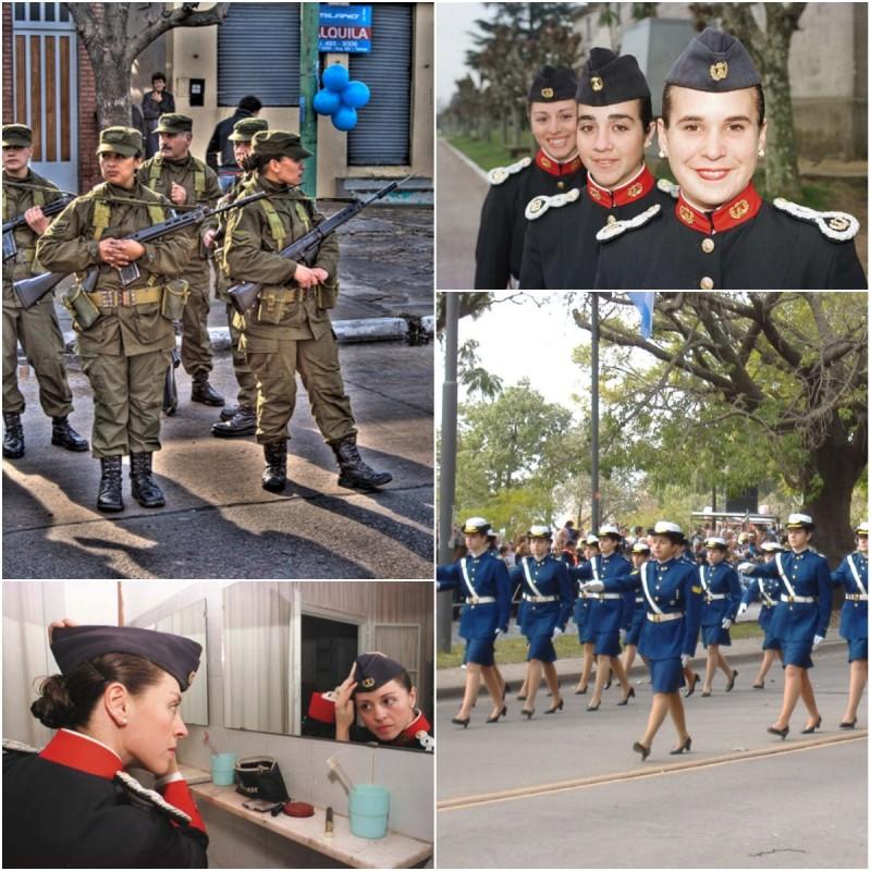 Женщины в различных армиях мира!