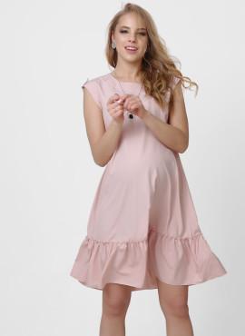 """Платье """"АИДА"""" для беременных, цв-пудровый"""