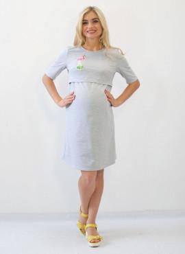 """Платье """" Цапля"""" для будущих мам и кормления"""