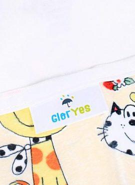 Непромокаемая пеленка GlorYes 80х68 см