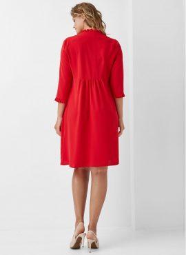 Платье для беременных и кормящих, Dianora, арт 1964 0884, цв-красный