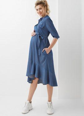 Платье для беременных и кормящих, Dianora, арт 2016 1311, цв-синий