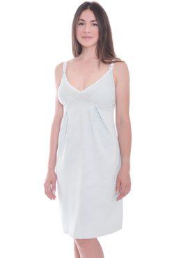 """Ночная рубашка """"Mint"""", светло-серый, арт 24168"""