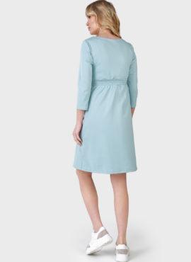 """Платье """"Алиша"""" для беременных и кормящих; цвет: селадон"""