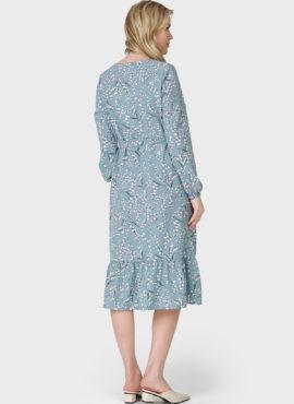 """Платье """"Мариана"""" для беременных и кормящих; цвет: селадон"""