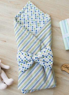 Комплект детский 2-х АРТ 188 Лето,  цветная полоска/конфетти.