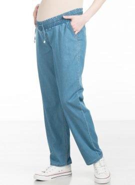 Брюки джинсовый, цвет-синий