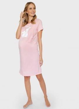 """Платье домашнее """"ПАТРИЦИЯ"""" для беременных и кормящих, цвет: сухая роза"""