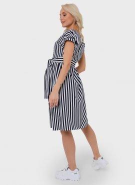 """Платье """"Валерия"""" для беременных и кормящих, цвет-синий"""