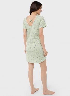 """Ночная сорочка """"Мелания"""" для беременных и кормящих, цвет-зеленый"""