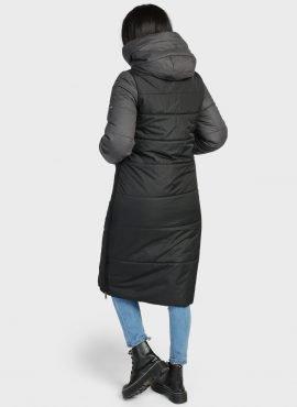 """Куртка зимняя 2 в 1 """"БРЕТАНЬ"""" для беременных, цвет-черный"""