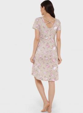 """Платье домашнее """"Энди"""" для беременных и кормящих, цвет-балерины"""