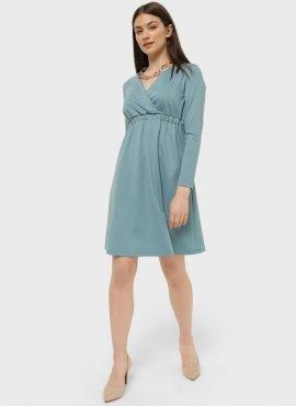 """Платье """"Уитни"""" для беременных и кормящих; селадон"""