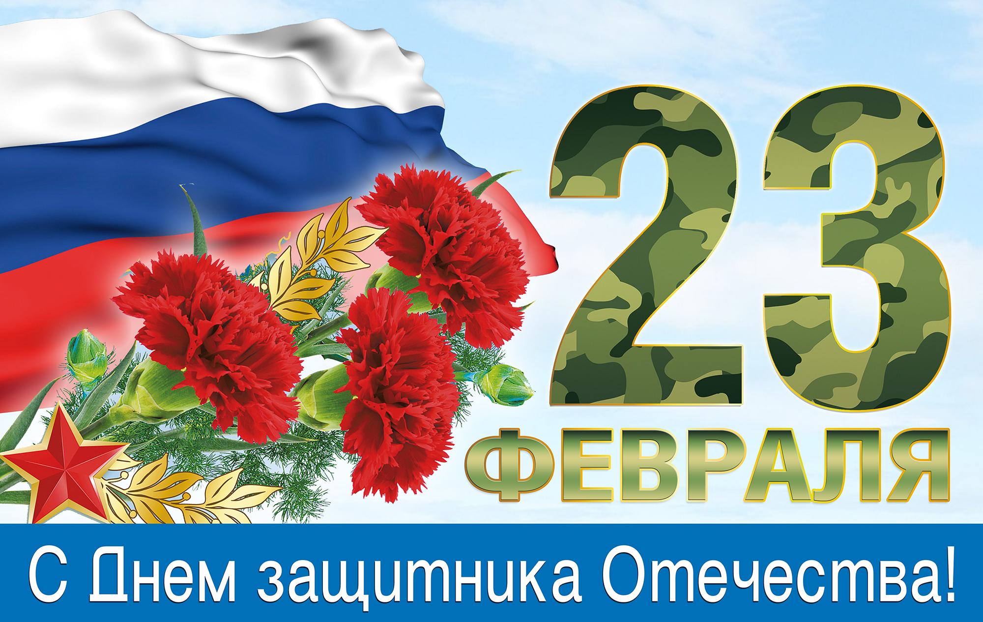 С Днем Защитника  Отечества !