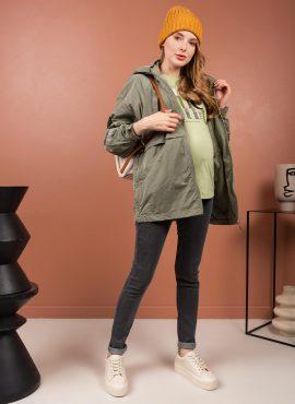 Джинсы «Стайл 040» для беременных, цвет- антрацит