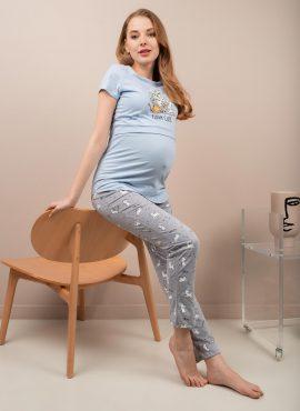 """Комплект для дома """"Стивен"""" для беременных и кормящих; серый"""