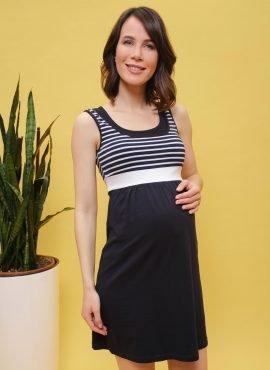 """Платье для беременных и кормления """"Делмар"""", цв-синий"""