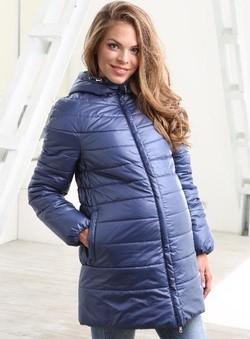Куртка Шер синяя, арт 031166(Ш)