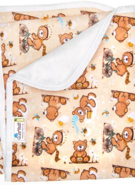 Непромокаемая пеленка GlorYes 80х68 см.