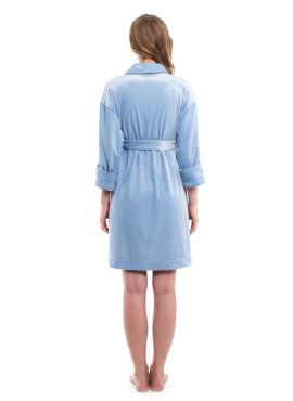 Халат, ТМ  New Form, голубой, арт 435.3806Д