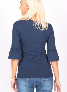Блуза хб, цв-темно-синий, ТМ ЕUROMAMA.