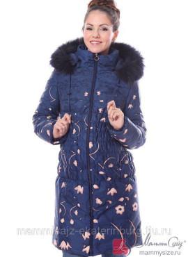 Пальто арт. 900003 - синий