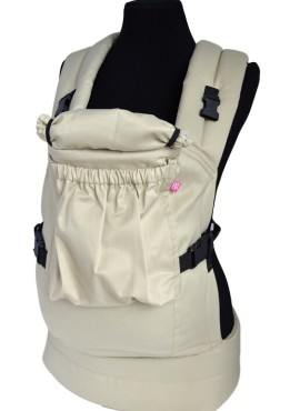 Эрго-рюкзак BiBi-Лайт «Комфорт» 6+ месяцев до 14кг, бежевый.
