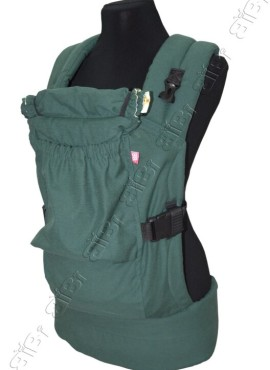 Эрго-рюкзак BiBi-Лайт «Комфорт» 6+ месяцев до 14кг. изумруд