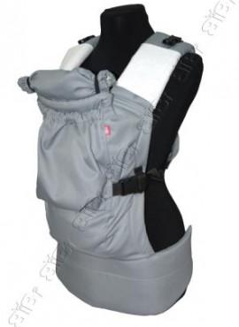 Эрго-рюкзак BiBi-Лайт «Комфорт» 6+ месяцев до 14кг.  серый