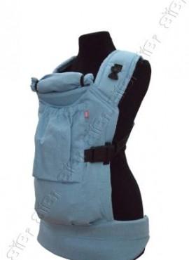 Эрго-рюкзак BiBi (до 18кг) синий лен