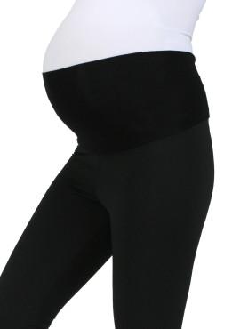 Легинсы для беременных утепленные, цв черный, арт 100191