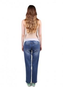 Брюки джинсовые прямые с вставкой по бокам, ТМ New Form, арт. 2117.0059.С